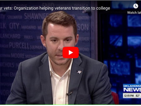 4 our vets: Organization helping Oklahoma veterans transition to college