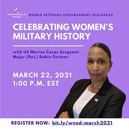 Women Veterans Empowerment Dialogues: Celebrating Women's Military History