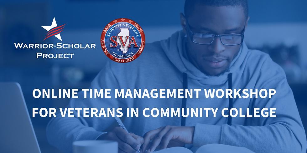 Free Online Time Management Workshop for Veterans in Community College