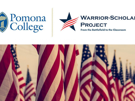 Pomona College Partners with Warrior-Scholar Project to Support Veterans