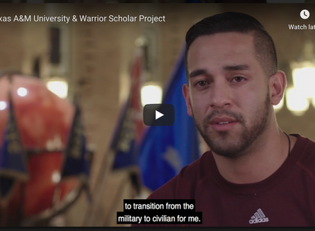 Texas A&M's Warrior-Scholar Project Expands to Include STEM Fields