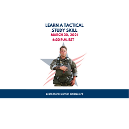 Learn A Tactical Study Skill