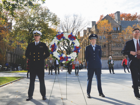 Yale funds veteran program