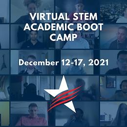 Virtual STEM Academic Boot Camp