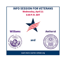 Williams and Amherst Info Session