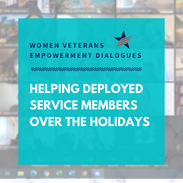 Helping Deployed Service Members Over the Holidays