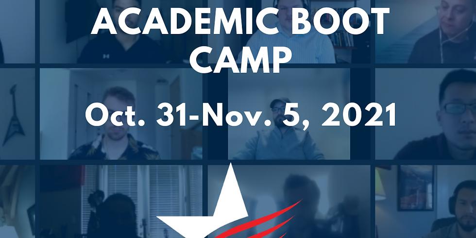 Virtual Humanities Academic Boot Camp