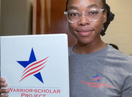Warrior-Scholar Project 2020 UCI Cohort Spotlight: Tia Carr