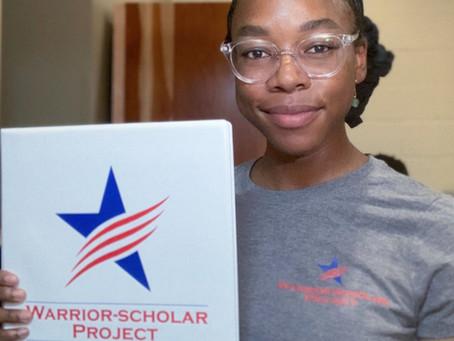 Warrior-Scholar Project 2020 UCI Cohort Spotlight: Tia Carr
