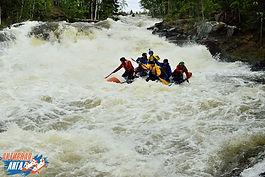Экспедиция на реку Винча в 2016 году.Сплав на катамаранах  в Карелии на Июньские праздники.
