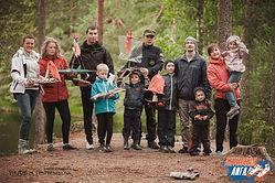 Сплав с детьми в Карелии река Шуя