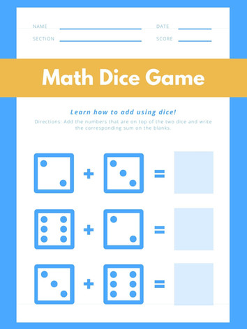 Counting Dice 3-5 (3) #8