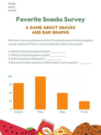 Bar Graph 6-8 #13