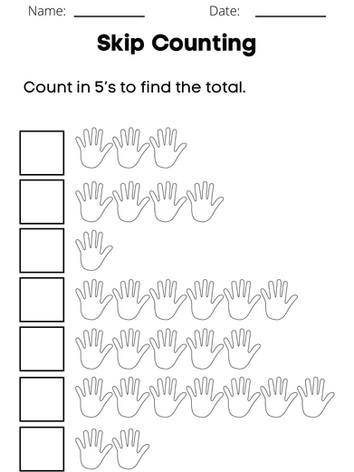 Skip Counting 6-8 #12