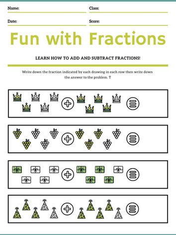 Simple Fractions 6-8 #10