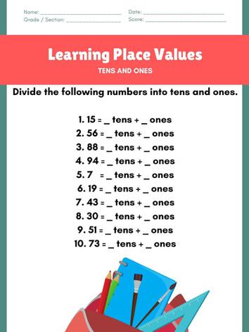 Place Value 6-8 #8