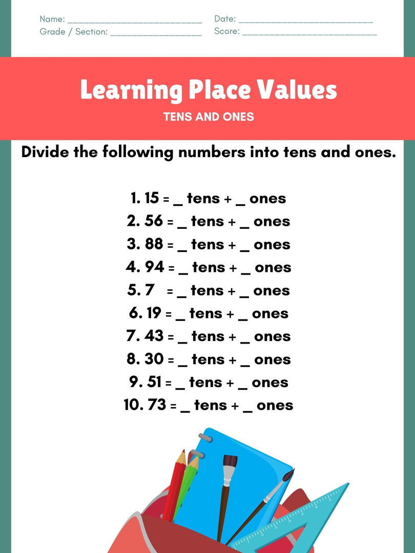 Place Value 6-8 #8