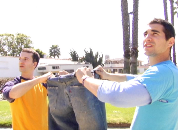 """Levis- """"Jumping into Jeans"""" Web Version"""