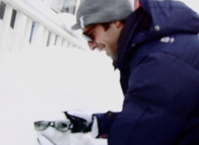 """Sunglasses Snowball"""