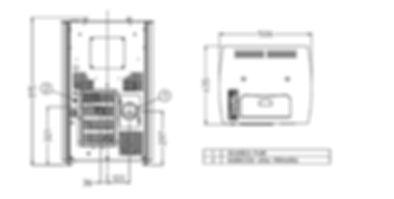 dimensiones estufa pellet Arce Mikro