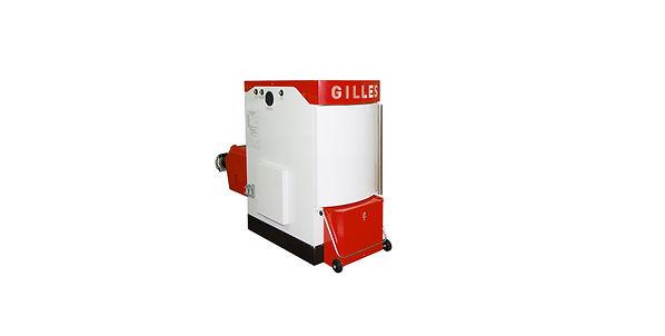 caldera austria Gilles policombustible automática