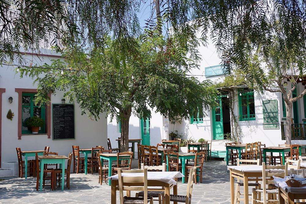 TheWayWeSawIt-Folegandros-Chora-Square