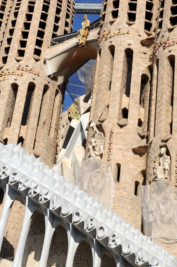 Der Auferstandende: Sagrada Familia Barcelona