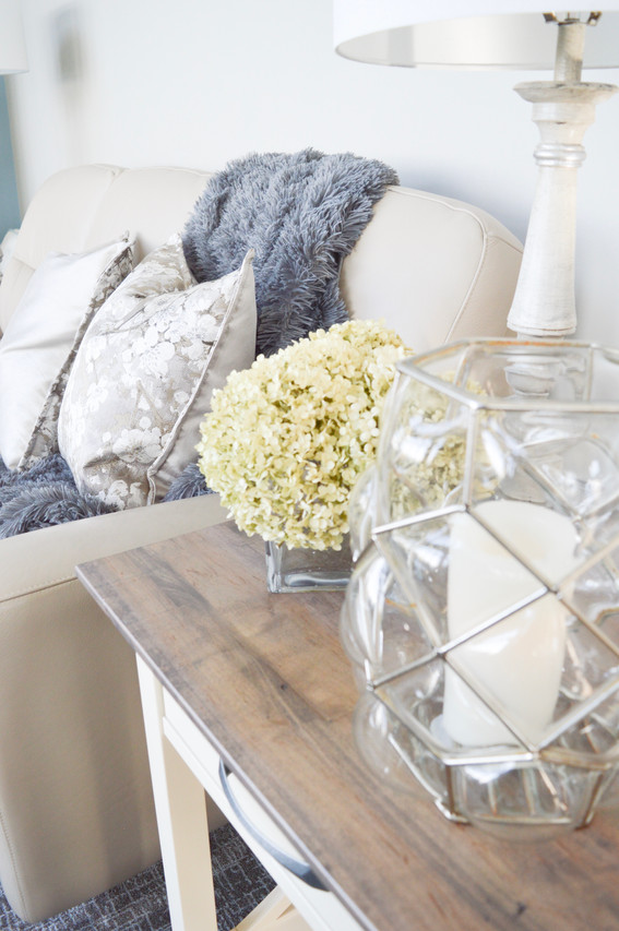 Home decor accessories and styling