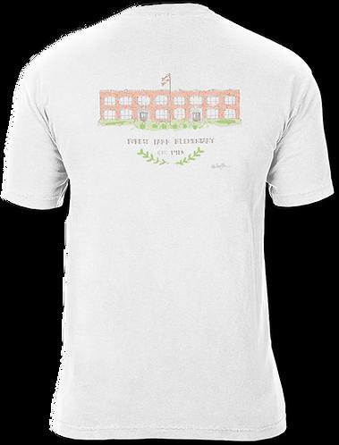 Short Sleeve Ashley Saer Watercolor T-shirt