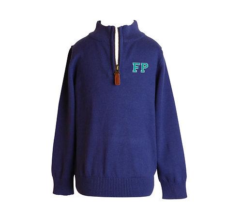 FP 1/4 Zip Sweater by Yellow Lamb