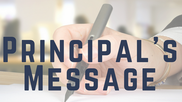 Principal's Message: Limited Screen Time