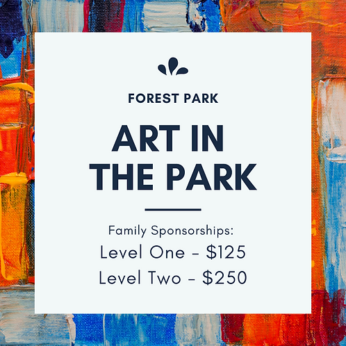 Art in the Park Family Sponsorship