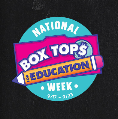 National Box Tops Week 9/17-9/23
