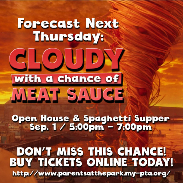 Open House and Spaghetti Supper Thursday