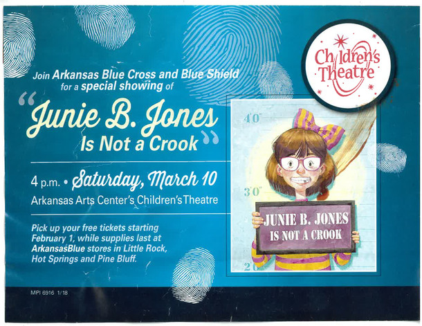 While Supplies Last: Children's Theatre Tickets