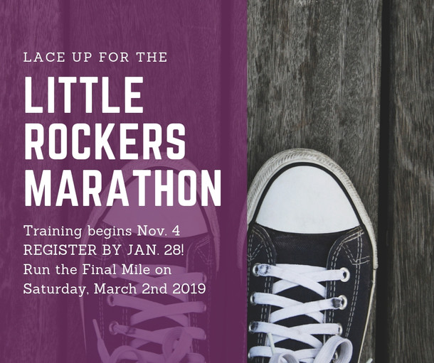 Join Forest Park for the Little Rockers Marathon