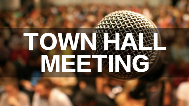 Reminder: Town Hall Safety Meeting WEDNESDAY PM