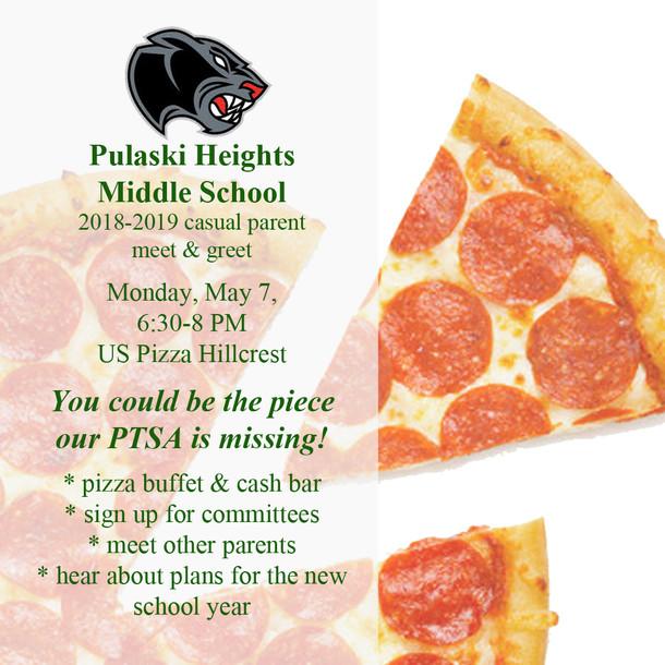 Reminder:  PHMS Parent Meet & Greet Monday Night