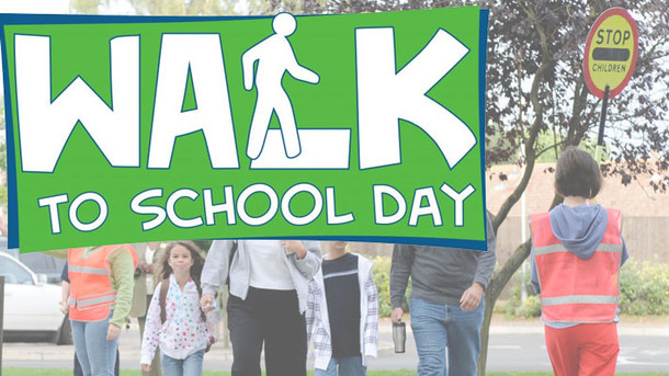 October 4th is Walk to School Day