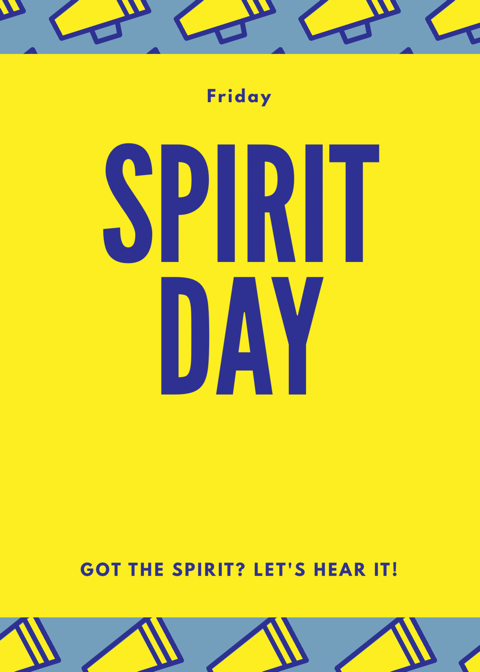 Here's to the 1st Spirit Day of the Year!