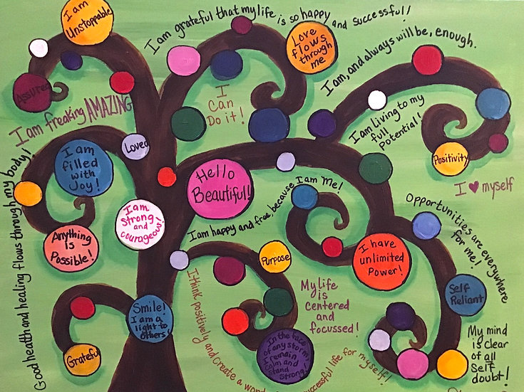 """Bubble Tree Affirmations"""