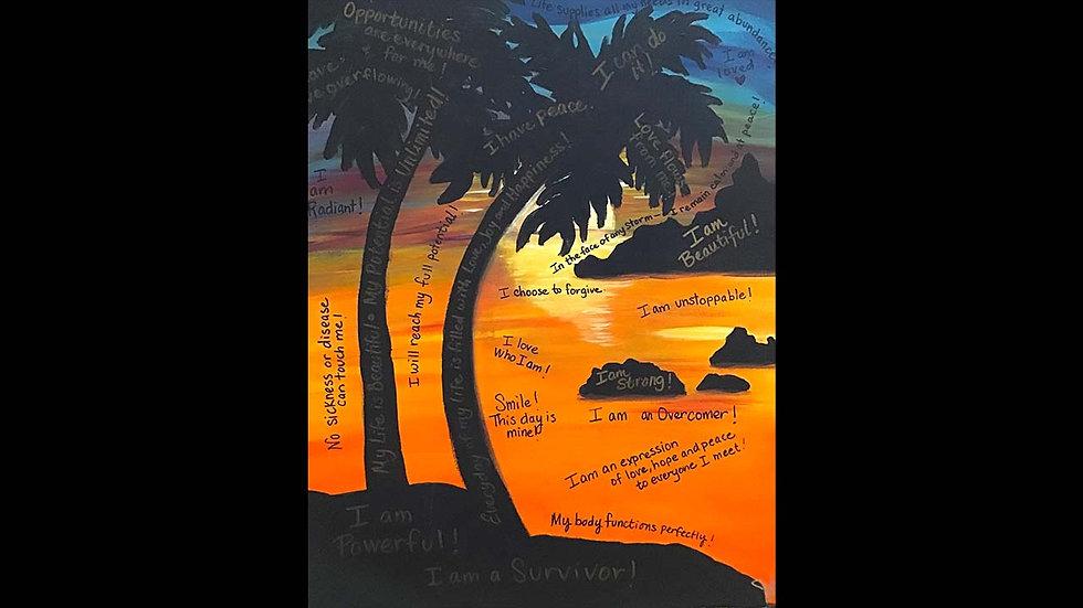 """Palm Tree Affirmations"""