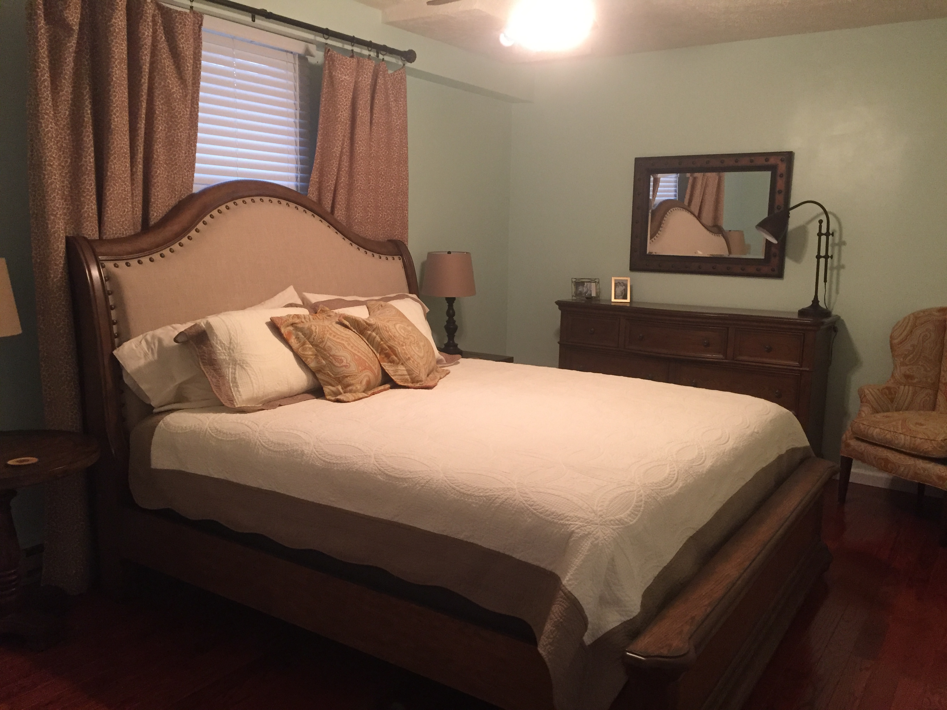 King Master Bedroom In Blowing Rock