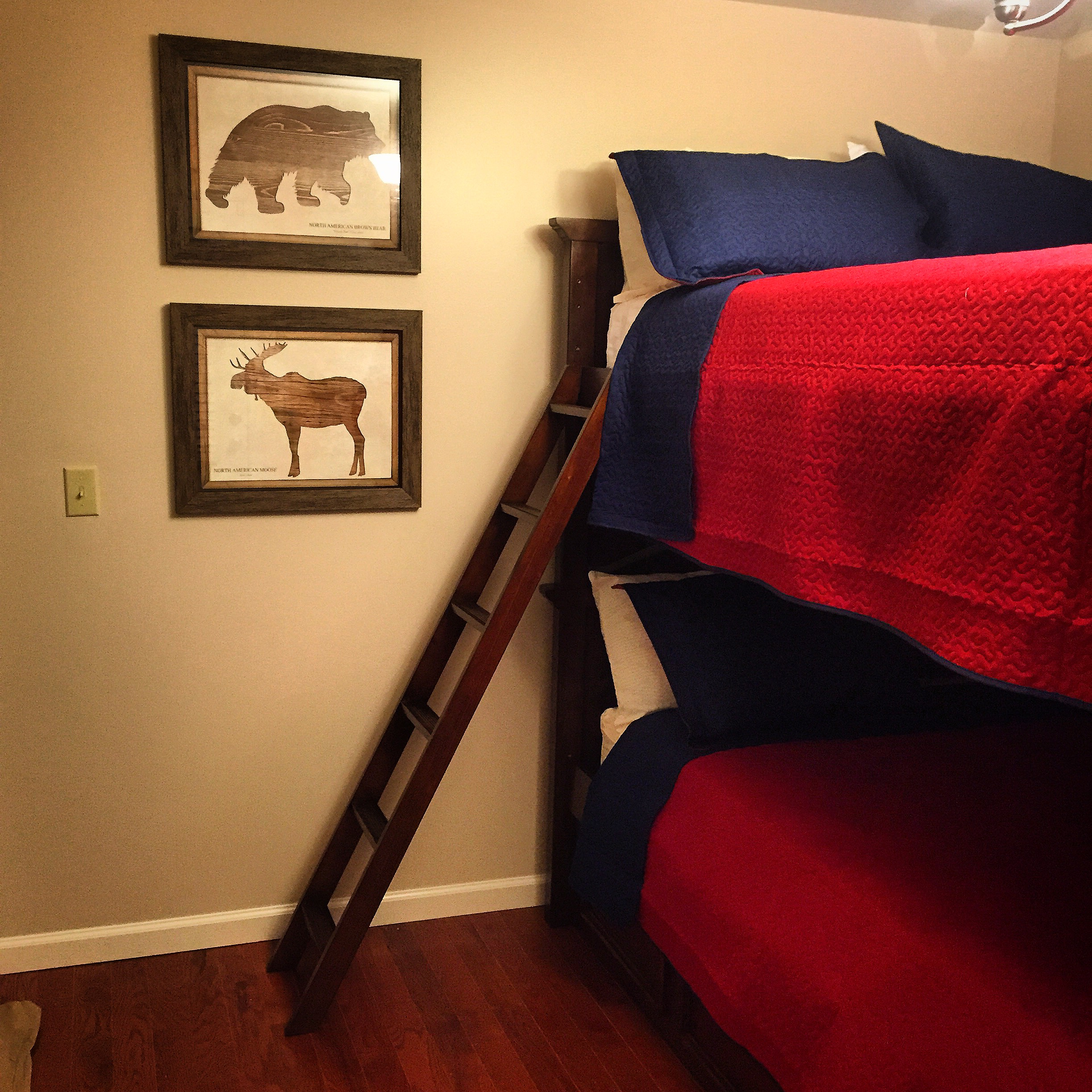 Kid's Bunk Room at Blowing Rock