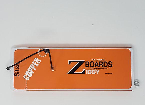 Ziggy Z Board  Copper Planer Board