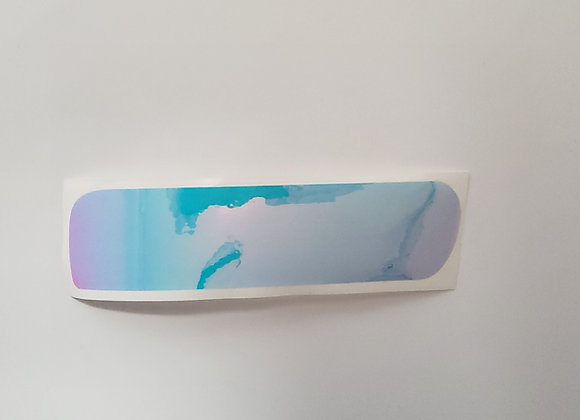UV Transparent Super Pearl Flasher Cut