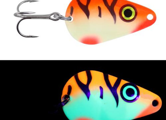 5/8 oz Moonshine Casting Spoon/ Tangerine Tiger