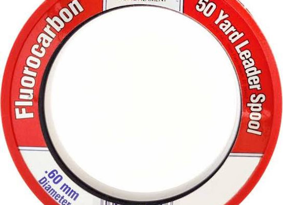 60LB. Clear Ande Fluorocarbon 50yrd. Leader Spool