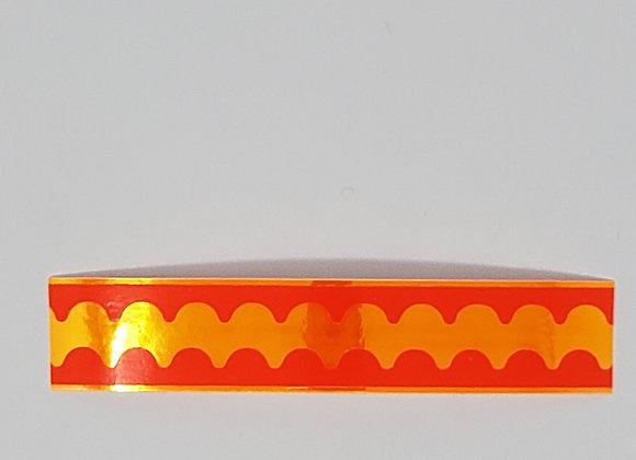 ORANGE Scallop Spoon Tape