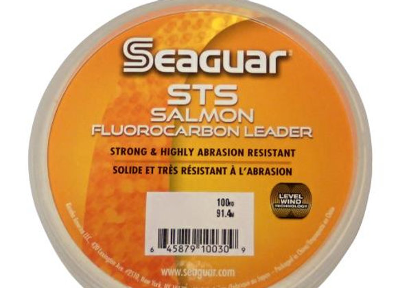 20LB. Seaguar STS Salmon 100YRD. 100% Fluorocarbon Leader